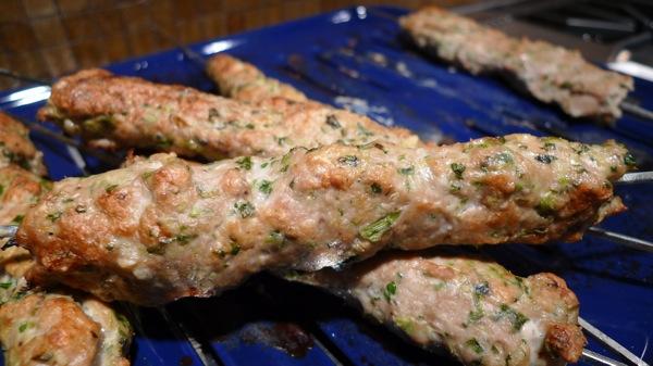 Seekh Kebab with Cardamom