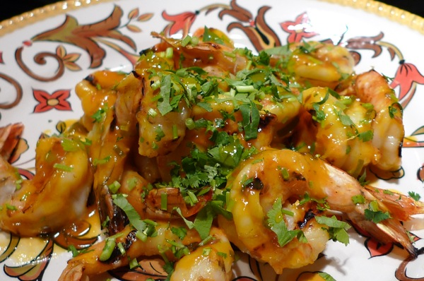 grilled-shrimp-with-spicy-mango-glaze