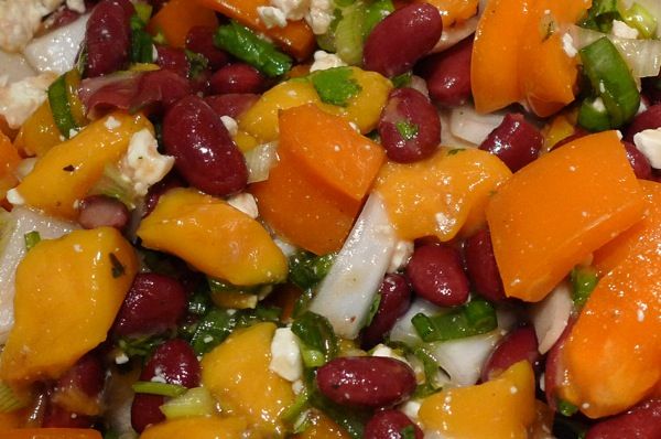 red-bean-and-mango-salad