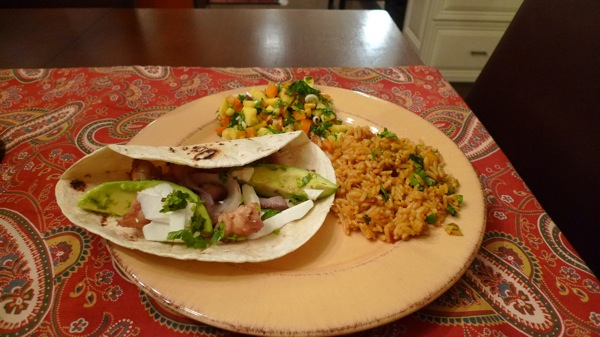 shrimp-taco-with-spanish-rice