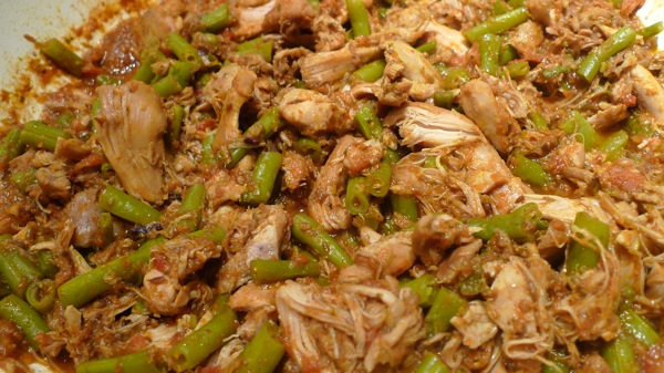 Sharing plate an easy indian recipe chicken with green beans chicken and green beans forumfinder Choice Image