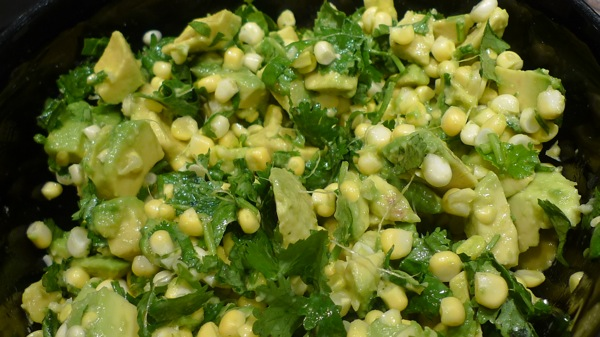 Avocado and Corn Relish