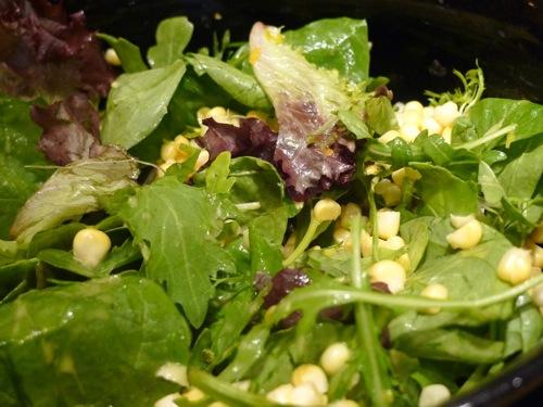 Fresh Corn Salad with a Citrus Vinaigrette