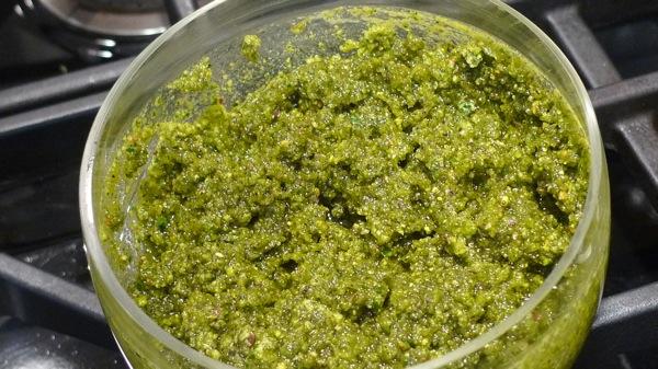 Herbs and Pistachio Pesto