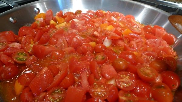 ... tomato pan sauce and fresh mozzarella fresh and savory tomato pie