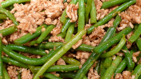 Ground Turkey and Green Bean Stir Fry