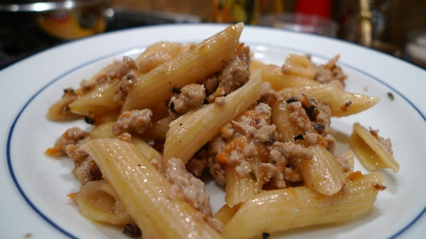 Pork Ragu with Penne