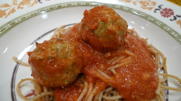 Turkey Meatballs with Zucchini 1