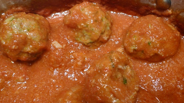 Turkey Meatballs with Zucchini