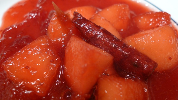 Apple Orange Cranberry Sauce