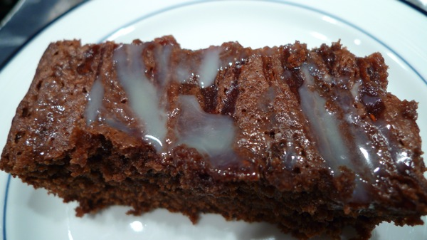 Chocolate and Raspberry Swirl Brownie 1