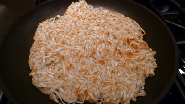 Crisp Noodle Pancake