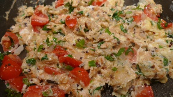 Kerala Style Scrambled Eggs1