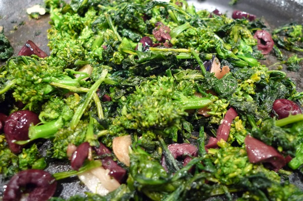 Broccoli Rabe with Olives