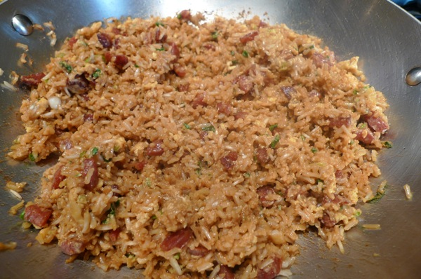 Chinese Sausage Fried Rice2