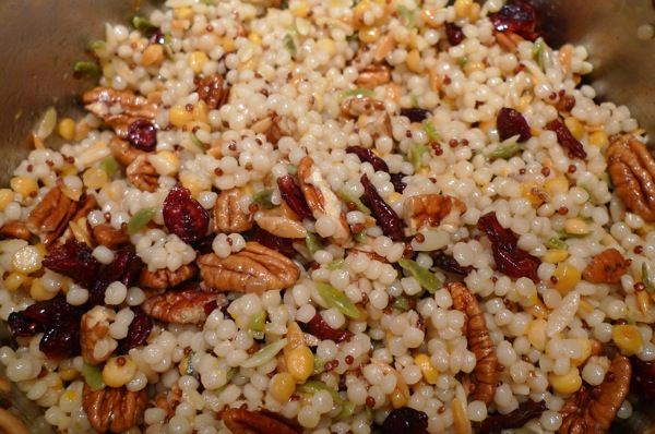 Couscous with Cranberries and Pecans