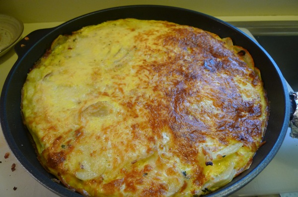 Four-Cheese Frittata