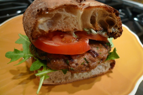 ... Memorial Day Recipes: Moroccan Style Lamb Burgers with Harissa Sauce