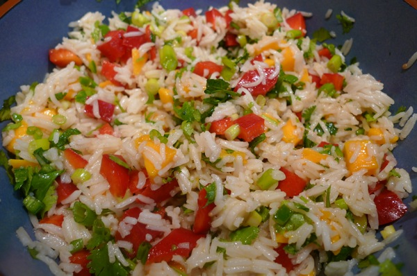 Rice and Mango Salad