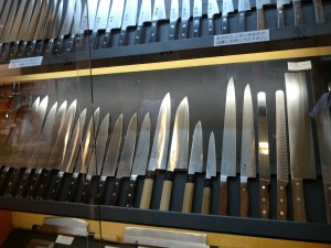 A Wall Full Of Gleaming Knives