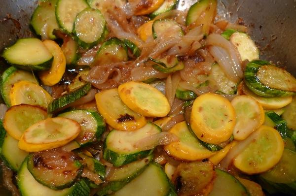Zucchini and Squash Saute