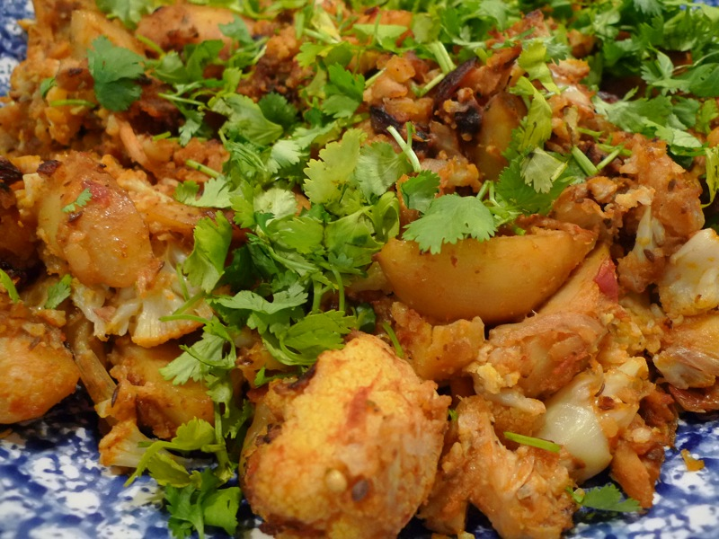 Cauliflower and Potatoes
