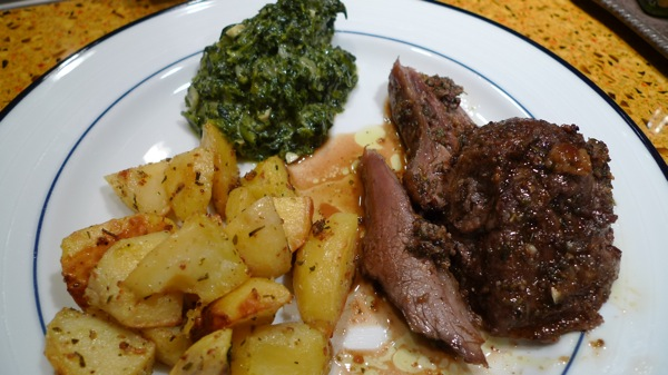 Roast Lamb with Potatoes2
