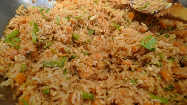 Snowpea Fried Rice