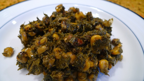 Spinach and Roasted Corn