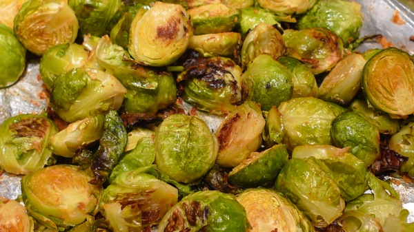 Brussel Sprouts with Smoked Paprika1