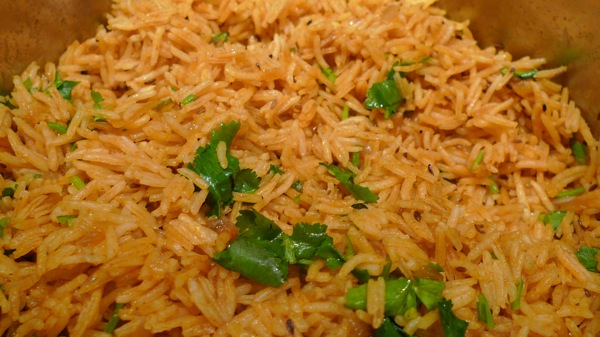 Spanish Rice with Spanish Rice