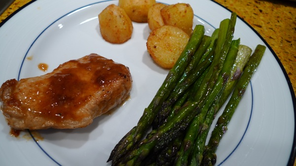 Orange Pork Chops with Smoked Paprika