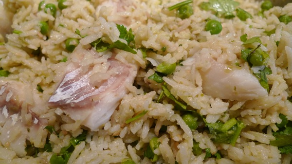 Mexican Rice and Fish