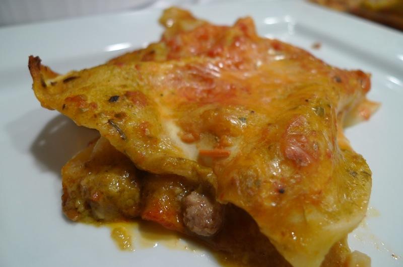 Chorizo Lasagna1