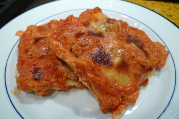 Leftover Meatball Lasagna