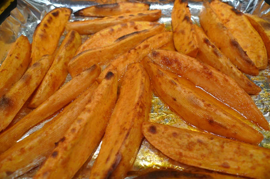 Sharing Plate » Roasted Smoked Paprika Sweet Potatoes