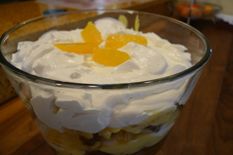 Pumpkin Orange Trifle