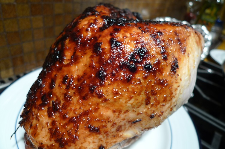 Tamarind Orange Glazed Turkey Breast