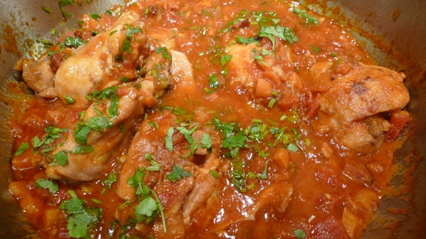 Mexican Chicken Stews with Chorizo
