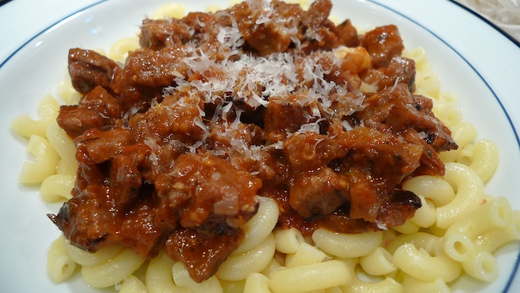 Sausage Ragu with Red Wine