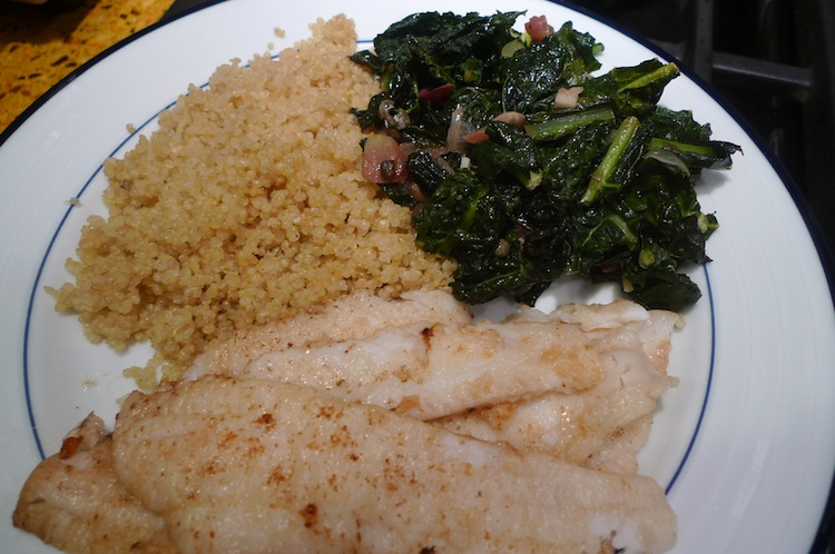 Dover Sole Cooked in Brown Butter
