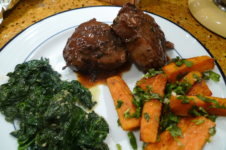 Lamb Chops with Smoked Paprika and Red Wine