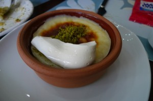 Rice Pudding with Cream