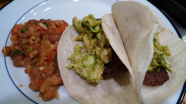 Steak Tacos with Fresh Guacamole