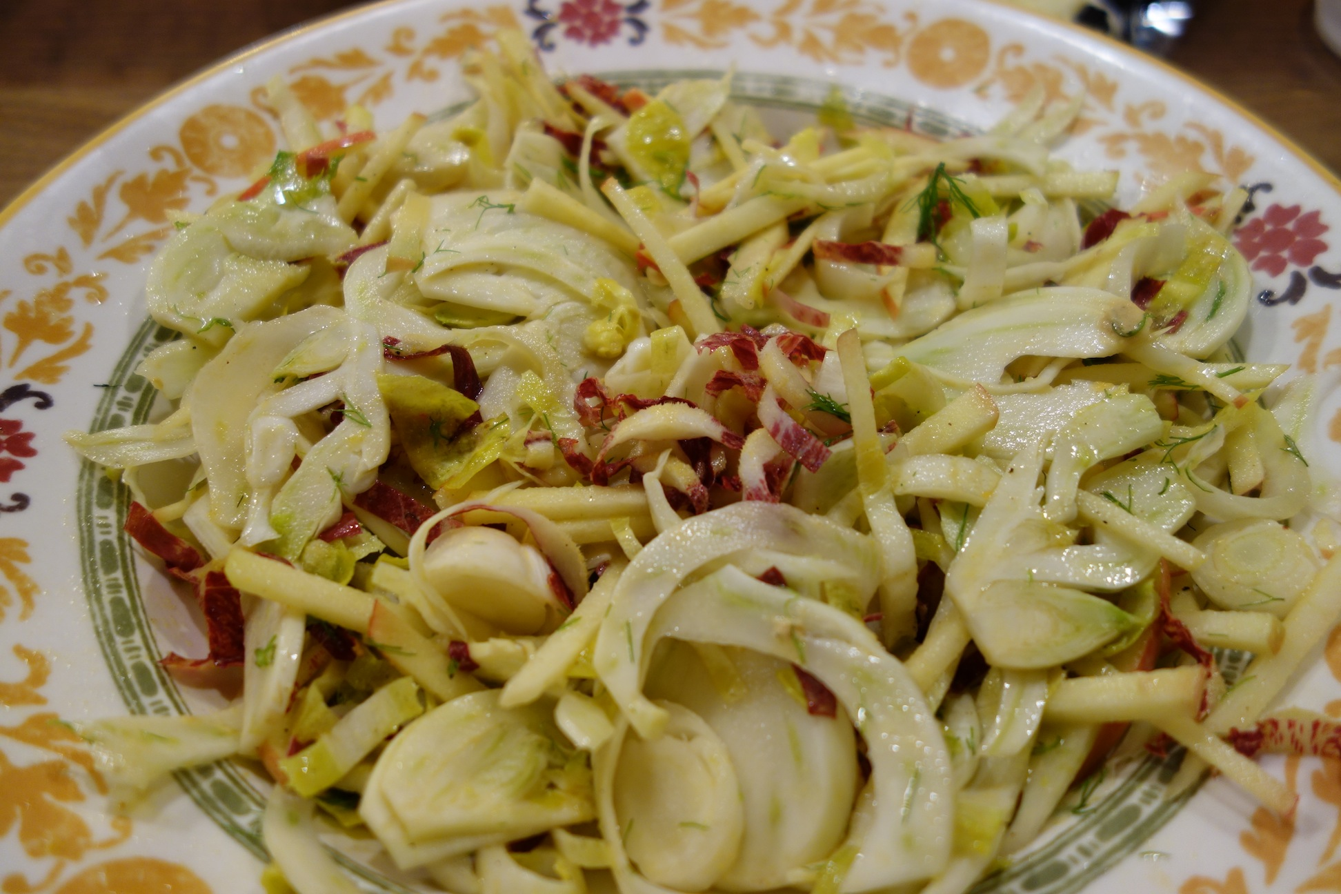 Fennel and Apple Salad