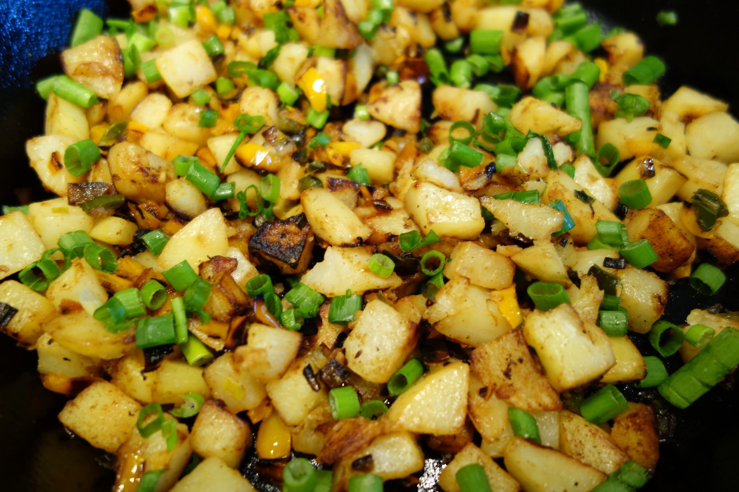 Potato and Pepper Home Fries