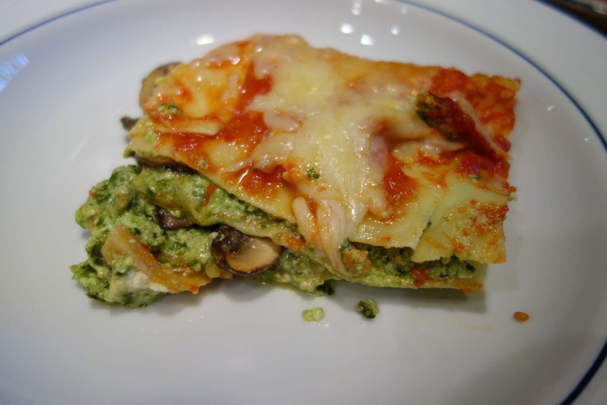 Mushroom and Broccoli Rabe Lasagna1
