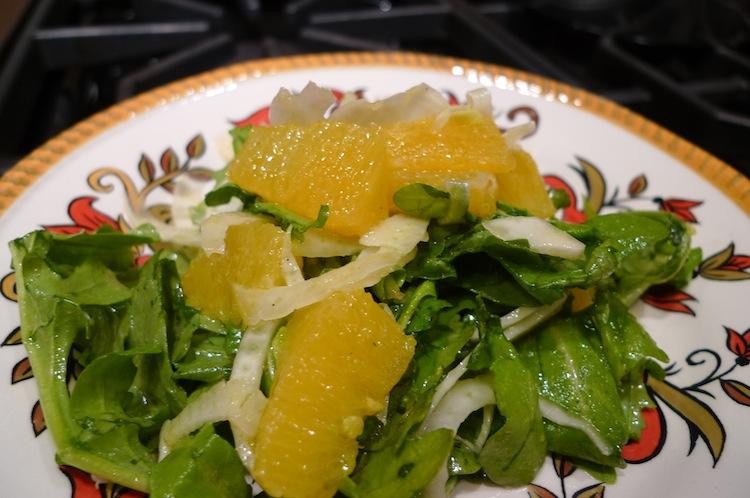 ... fennel baby arugula arugula fennel orange salad endive arugula fennel