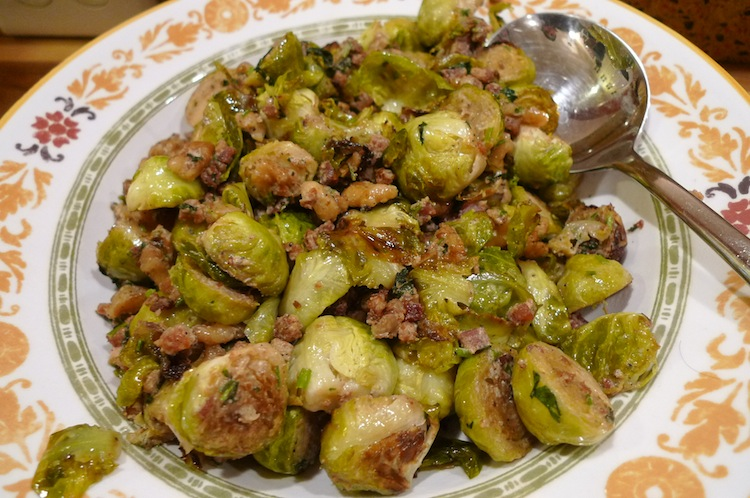 Roasted Brussels Sprouts with Garam Masala
