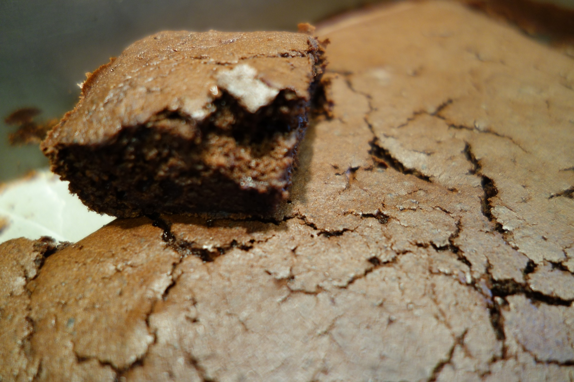 Black Bean Brownie with Coconut oil